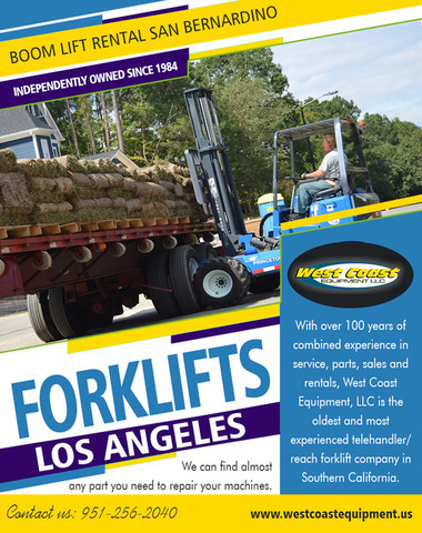Forklifts Los Angeles|westcoastequipment.us|1-9512562040