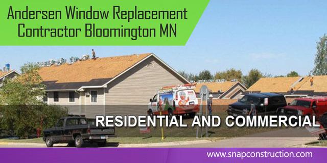Andersen Window Replacement Contractor Bloomington MN