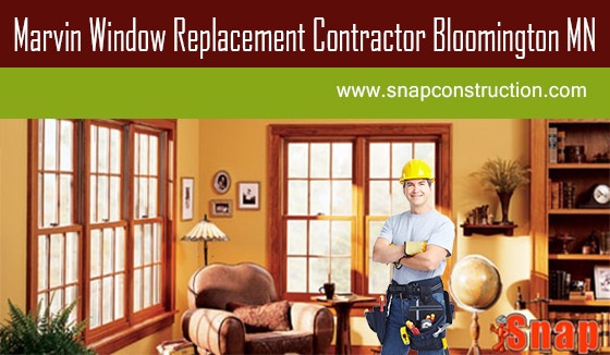 Marvin window Replacement Contractor Bloomington MN