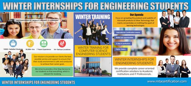Winter Internships for Engineering Students