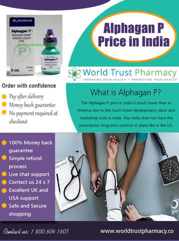 Alphagan P Price in India
