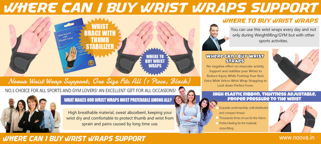 Where Can I Buy Wrist Wraps Support