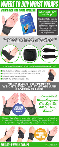 Where to Buy Wrist Wraps