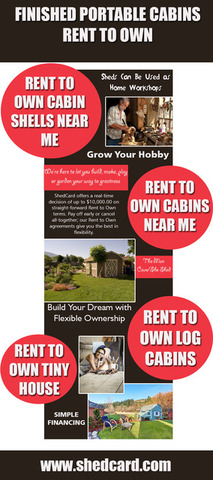 Finished Portable Cabins Rent To Own