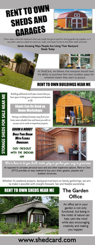 Rent To Own Sheds And Garages