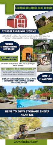 Portable Storage Buildings Rent To Own