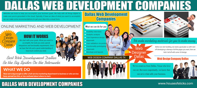 Web design company dallas tx