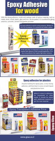 Epoxy adhesive for wood