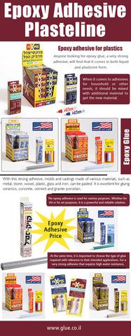 Epoxy Adhesive Plasteline
