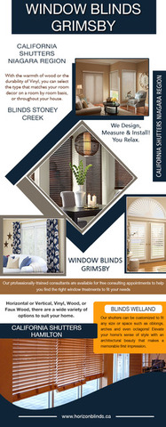 Blinds St Catharines