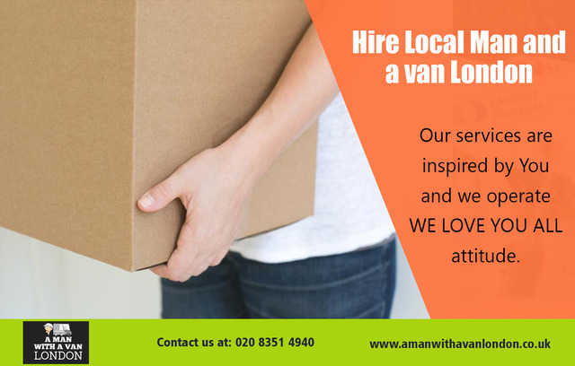 Hire Local Man and a van London