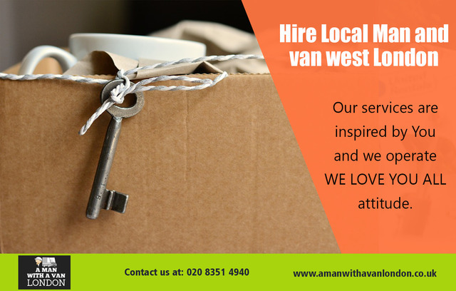 Hire Local Man and van west London
