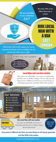 Hire Local Man with a van East London