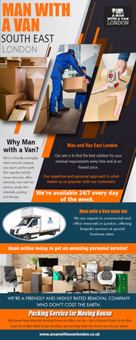 Man with a Van SouthEast London