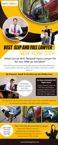 Best  Slip and Fall Lawyer New York City
