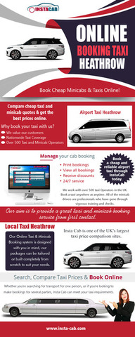Online Booking  Taxi Heathrow