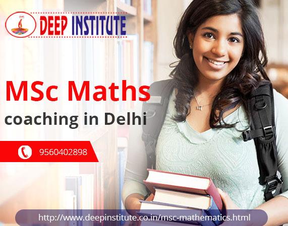 Best coaching for MSc maths entrance   Msc maths coaching