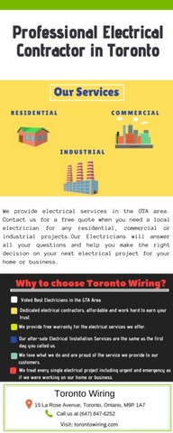 Top Rated Electrical Installation Service