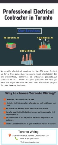 Top Rated Electrical Contractor
