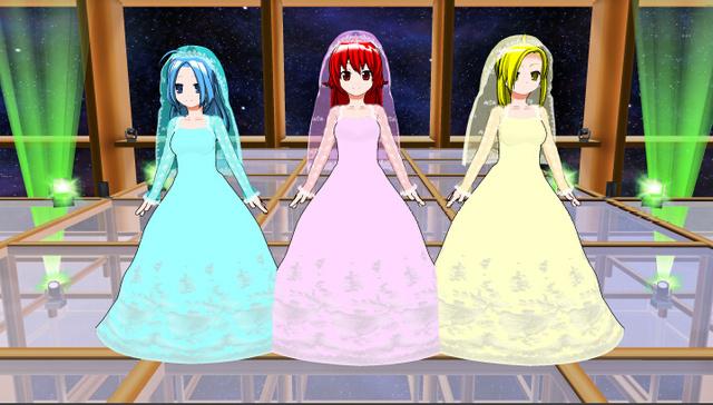 Wedding Dress カラーバリエーション